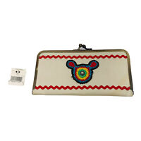 """Vintage Walt Disney Attractions Mickey NWT Mouse Purse Wallet 7"""" X 3 1/2"""" Approx"""