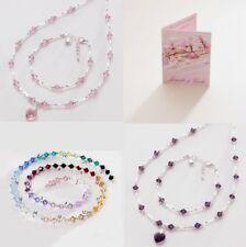 Delicate Wedding Jewellery for Bridesmaids & Flower Girls. Huge Colour Range.