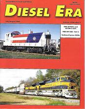 Diesel Era V18 N4 Seaboard System's SD50 EMD SW1200 SD70ACe SD70M-2 Nickel Plate