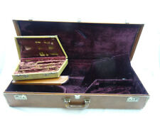 Vintage Selmer-Paris Mark VI Tenor Saxophone Tri-Pack Case, + Clarinet+Flute ...