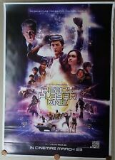READY PLAYER ONE 2018 ORIGINAL DOUBLE SIDED US MOVIE DS POSTER 27X40 INCH #2