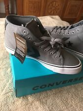 Converse Star Replay Cons Grey Mens Uk Size 7 Brand New Shoes Trainers Sneakers