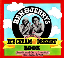 Ben and Jerry's Homemade Ice Cream and Dessert Book by Ben & Jerry (1987, PB)