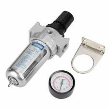 Bsp 12 Air Filter Regulator Air Compressor Moisture Water Trap Air Tool Par