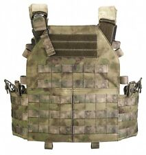 "Professional VEST ARMORED SYSTEM PLATE CARRIER in A-TACS FG by ""Stich Profi"""