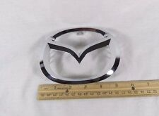MAZDA 3 GRILLE EMBLEM 07-15 MAZDA3 OEM GRILL CHROME M BADGE sign symbol logo
