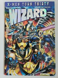 Wizard Collector's Edition X-Men Turn Thirty Price Guide Comics Aug 1993 (VF+)