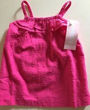 NWT Gymboree Baby Girl 2 Piece Set PINK Dress 3-6 Month NEW Outfit Girls Infant