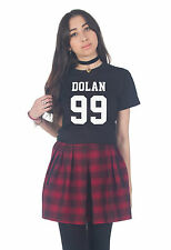 Dolan 99 T-shirt Top Tumblr Fangirl Twins Brothers Ethan Grayson