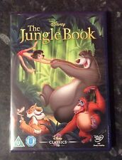 JUNGLE BOOK DISNEY DVD NEW & SEALED MINT CONDITION FAST FREE POST