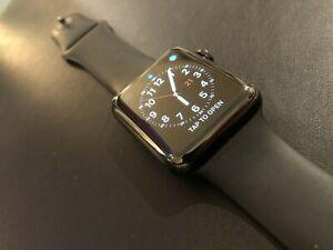 Apple Watch Series 2, 42mm, Black, Stainless Steel