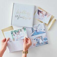 Wedding Photo Album - Gold Wedding