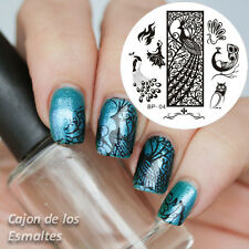 Nagel Schablone BORN PRETTY 04 Nail Art Stamp Stamping Template Plates