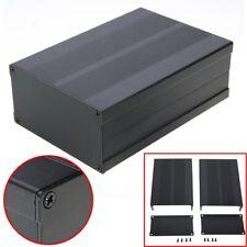 150*105*55MM Black Aluminum Box Circuit Board Enclosure Case Project Electronic