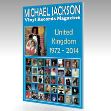 MICHAEL JACKSON Vinyl Records Magazine - United Kingdom Discography (1972-2014)