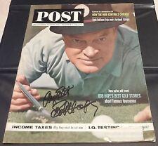 BOB HOPE - SATURDAY EVENING POST Magazine (November 9, 1963) - SIGNED