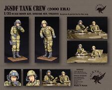 1/35 Scale Resin Figure kit - JGSDF Tank Crew - 2000 Era (2 Figures)