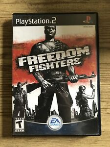 Freedom Fighters - Ps2 ( Sony Playstation 2 ) Box & Game , No Manual !