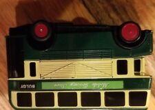 Thomas & Friends Bulgy Green Double Decker Bus 1995 Tomy Motorized Trackmaster
