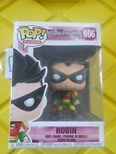 Funko Pop! Television Robin Vinyl Figure Teen Titans Go! Tnbts Vaulted # 606
