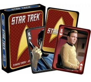 Star Trek Cast Playing Cards