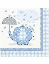 Confezione 16 Tovaglioli  Carta , Baby Shower Nascita Bimbo PS 11131