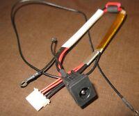 DC JACK POWER w/ CABLE TOSHIBA QOSMIO X505-Q832 P505-S8945 CLTZ11CB10P SOCKET