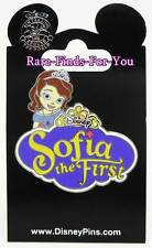 "Disney Theme Parks Princess ""Sofia the First"" Pin from Disney Jr. Channel (NEW)"