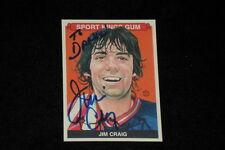JIM CRAIG 2010 SPORTKINGS SIGNED AUTOGRAPHED CARD #167 TEAM USA HOCKEY