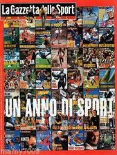 LA GAZZETTA DELLO SPORT MAGAZINE=N°1 1998=UN ANNO DI SPORT 1997=M.HINGIS=V.ROSSI