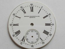 PATEK PHILIPPE VINTAGE ENAMEL ROMAN SNAP ON DIAL WATCH MOVEMENT PART