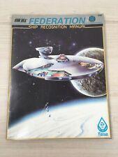 Star Trek Federation Ship Recognition Manual - FASA