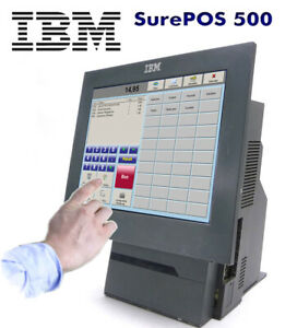 "Kassensystem All In One Computer PC IBM SurePos 500  12,1"" Touchscreen 4840-543"