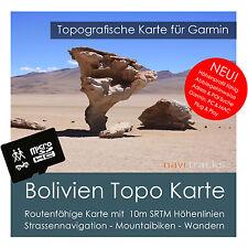 Bolivien Garmin Topo GPS Karte 4GB microSD Garmin Navi, PC & MAC
