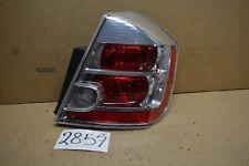 07 08 09 Nissan Sentra Passenger Side Tail Light Used Rear Lamp #2857-T
