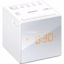 Clock Radio Sony ICFC1W White