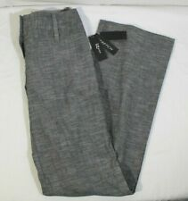 *NEW* Iz Byer Stretch Dress Pants Illusion Black Size 1