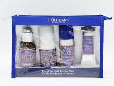 L'Occitane En Provence Kit Shower Gel +Deo Roller +Shaving Gel +After Shave Bal