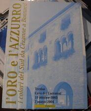 """ITALIA, ITALY, Repubblica 2004 Folder """" L'oro e L'azzurro"""""""