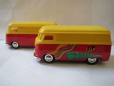 Sunnyside VW BUS Diecast 1:32 3VWS7 SS5403 YELLOW - MISSING BACK BUMPER (1)