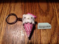 Hello Sanrio Ice Cream Cone Vinyl Keychain Series KidRobot Hello Kitty 2/24