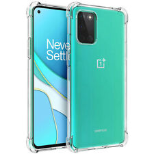 For OnePlus 8T / 8T Plus Clear Shockproof Flexible TPU Soft Protective Soft Case
