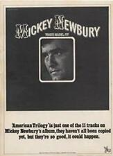 Mickey Newbury Frisco Mabel Joy LP advert Time Out cutting 1972