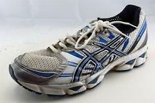 Asics Nimbus 12 Shoes Size 11 M White Running Fabric Men