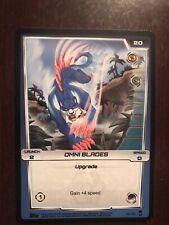 2012 Monsuno Trading Card Game #99 - Omni Blades -  (Common)