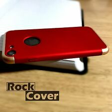 iPhone 7 High Density Shell Shock Proof Removable Base Case for Docking Red