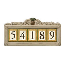 Grasslands Road House Number Holder with Metal Stakes- Pineapple style