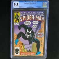 Spectacular Spider-Man #107 🔥 CGC 9.8 White 🔥 1st Sin Eater! Marvel Comic 1985