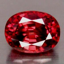 AMAZING OVAL SHAPE PINKISH-RED TANZANIAN ZIRCON 3.90ct