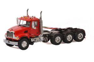 """Mack Granite 8x4 Truck Tractor - """"RED"""" - 1/50 - WSI"""